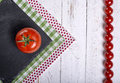 Framework tomatoes Royalty Free Stock Photo