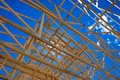 Framing of home roof Royalty Free Stock Photo