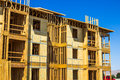 Framing On New Residential Construction Royalty Free Stock Photo