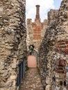 Framlingham Castle And Chimney