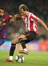 Fran Yeste of Athletic Bilbao Stock Photo