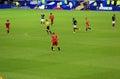France belgium football match soccer v at the stade de june Royalty Free Stock Photos