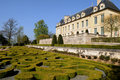 France, castle of Auvers sur Oise Royalty Free Stock Photo