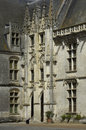 France, castle of Chateaudun Royalty Free Stock Photo