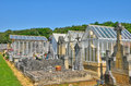 France cemetery of proissans in perigord the Royalty Free Stock Photo