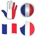 France collection Royalty Free Stock Photo