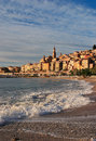 France Cote D'Azur Menton Stock Photo