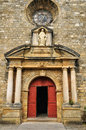 France domme church in perigord the Royalty Free Stock Photography