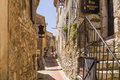 France eze village is a commune in the alpes maritimes department in southeastern not far from the city of nice the commune is Royalty Free Stock Images