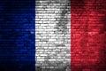France flag Royalty Free Stock Photo