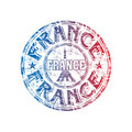 France grunge rubber stamp Royalty Free Stock Photos