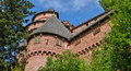France haut koenigsbourg castle in bas rhin the Stock Photography