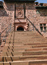 France; Haut Koenigsbourg castle in Bas Rhin Royalty Free Stock Photo