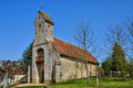 France historical church of gemage in normandie the Stock Photo