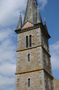 France historical church of notre dame du rocher the Royalty Free Stock Photos