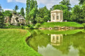 France the marie antoinette estate in the parc of versailles pa ile de palace Stock Photography