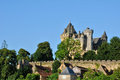 France middle age castle of montfort in dordogne the Stock Photo