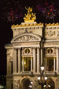 France. Paris. A building the Grand Opera Royalty Free Stock Photo