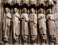 France, Paris: Notre Dame cathedral Royalty Free Stock Photos