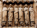 France, Paris: Notre Dame cathedral Stock Photography