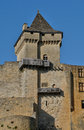 France picturesque castle of castelnaud in dordogne the Stock Photography