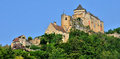 France picturesque castle of castelnaud in dordogne the Stock Photos