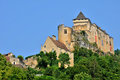 France picturesque castle of castelnaud in dordogne the Royalty Free Stock Photos