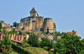 France picturesque castle of castelnaud in dordogne the Stock Image