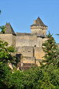 France picturesque castle of castelnaud in dordogne the Stock Photo