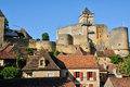 France picturesque castle of castelnaud in dordogne the Royalty Free Stock Photography