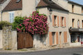 France picturesque city of jouy le moutier in ile de france the Stock Photo