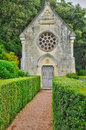 France, picturesque garden of Marqueyssac  in Dordogne Royalty Free Stock Photo