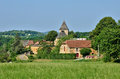 France picturesque village of carlucet the Stock Image
