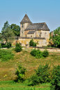 France picturesque village of carlucet the Royalty Free Stock Image
