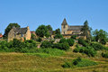 France picturesque village of carlucet the Stock Images