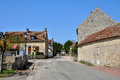 France, picturesque village of Saint Jean de la Foret Royalty Free Stock Photo