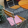 France terrace café Royalty Free Stock Images