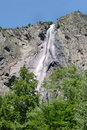 France - waterfall Alps Stock Photography