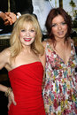 Frances Fisher,Francesca Eastwood Stock Image