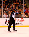 Francois St. Laurent, NHL Referee Royalty Free Stock Images