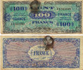 100 Francs Note 1944 Royalty Free Stock Photo