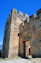Frangocastello castle. Royalty Free Stock Images