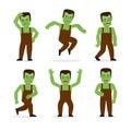 Frankenstein monster vector Royalty Free Stock Photo