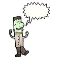 Frankenstein's monster cartoon Stock Photo