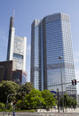 Frankfurt european central bank in germany Stock Photo