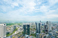 Frankfurt on main germany cityscape no brand names or copyright objects Royalty Free Stock Photo