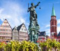 Frankfurt old city of germany Royalty Free Stock Photography