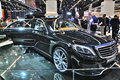 Frankfurt sept brabus biturbo ibusiness presented as world premiere at the th iaa internationale automobil ausstellung on Royalty Free Stock Image