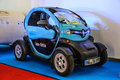 Frankfurt sept electric car renault twizy presented at i iaa international motor show on september in germany Stock Photos