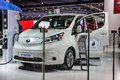FRANKFURT - SEPT 2015: Nissan e-NV200 presented at IAA Internati